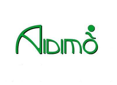Logotipo Aidimo. Colaborador Título de Experto en Fisioterapia Pediátrica