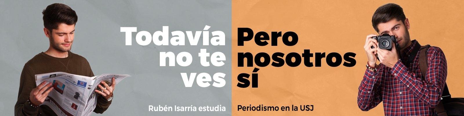 Grado en Periodismo de la Universidad San Jorge