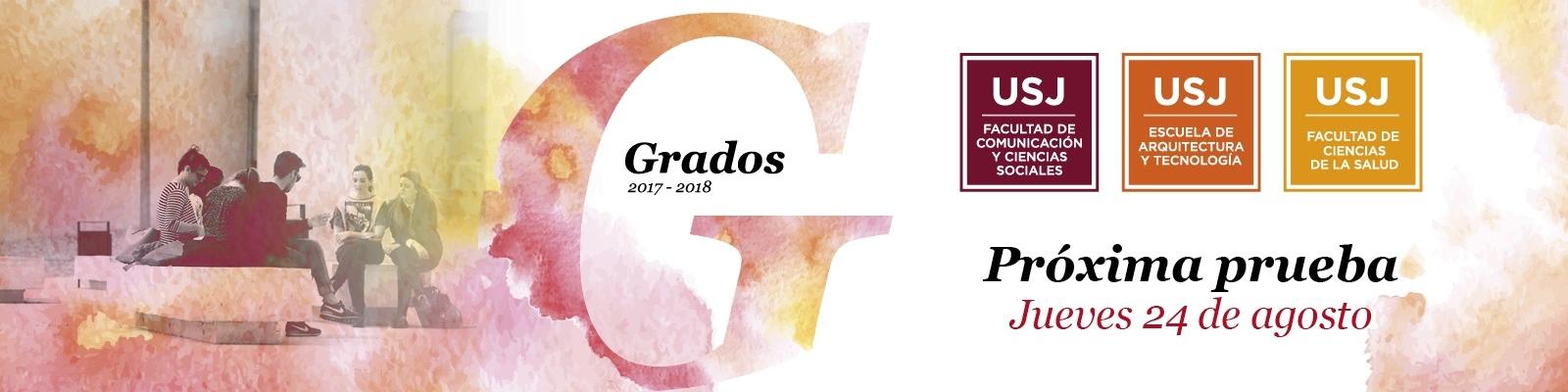 Próxima prueba de admisión de la Universidad San Jorge, 24 de agosto
