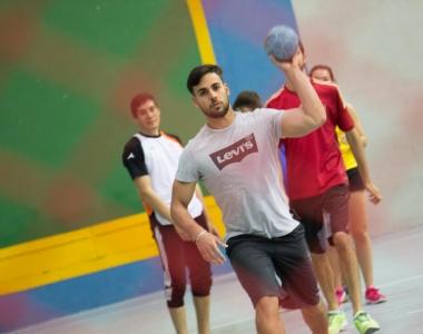 El balonmano es una sección deportiva de la Universidad San Jorge
