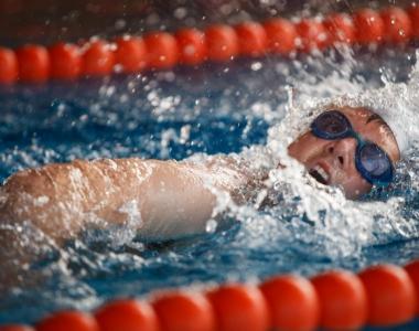 La natación es una sección deportiva de la Universidad San Jorge