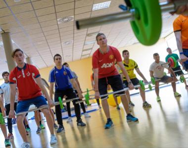 Actividades de Fitness de la Universidad San Jorge para alumnos