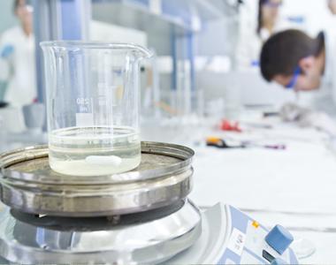 Detalle de un elemento del laboratorio de la Universidad San Jorge