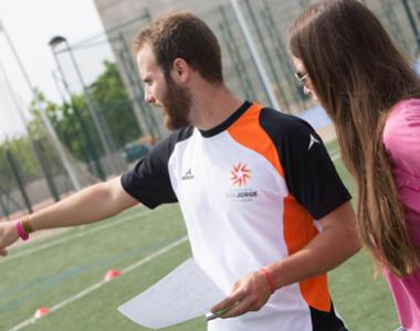 Formación en deporte de la Universidad San Jorge para alumnos
