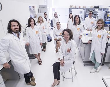 Grupo de investigadores de la Universidad San Jorge