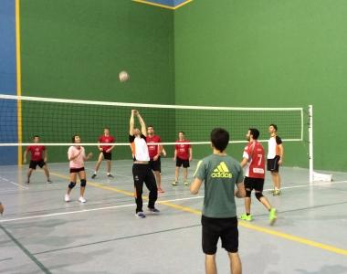 El voleibol es una sección deportiva de la Universidad San Jorge