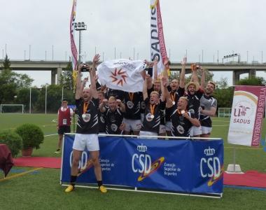 El rugby es una sección deportiva de la Universidad San Jorge