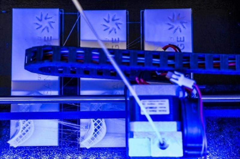 Impresoras digitales en 3D de la escuela de arquitectura y tecnología