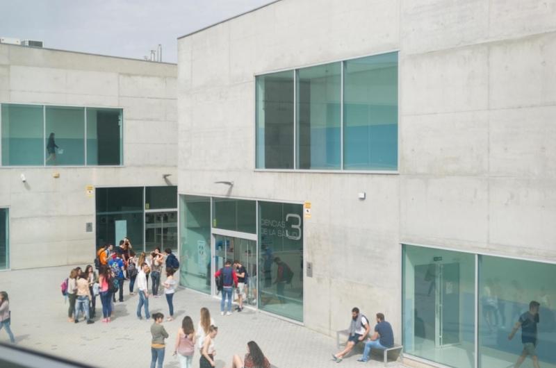 Edificios de la Facultad de Ciencias de la Salud de la Universidad San Jorge