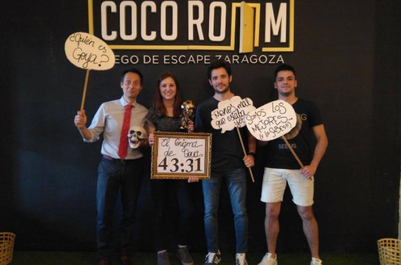 Egresados en Cocoroom