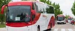 Autobuses con ruta de la Universidad San Jorge a Zaragoza