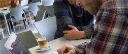 Menú de la cafetería de Comunicación y Ciencias Sociales de la Universidad San Jorge