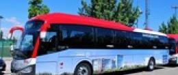 Paradas de la R1 del autobús de la Universidad San Jorge en Google View