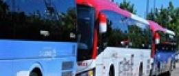Paradas del circular del autobús de la Universidad San Jorge en Google View