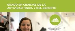 Ficha del grado en CCAFD de la Universidad San Jorge